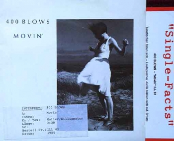400 Blows - Movin' / Groove Jumping - 7