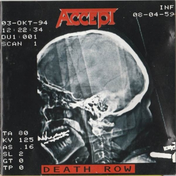 Accept - Death Row - CD