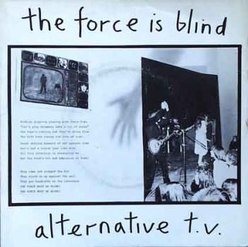 Alternative TV - The Force Is Blind / Lost In Room - 7