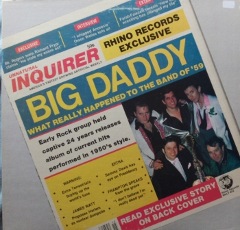 Big Daddy - What Really Happened To The Band Of '59 - LP
