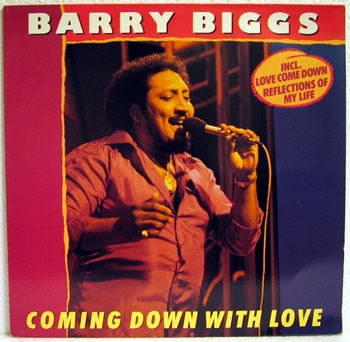 Biggs, Barry - Coming Down With Love - LP