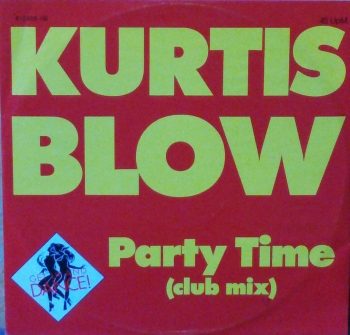 Blow, Kurtis - Party Time (Club Mix) / (Instrumental) - 12