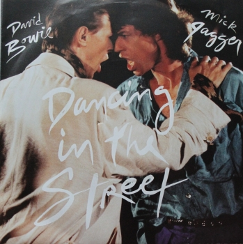 Bowie, David & Mick Jagger - Dancing In The Street / (Instrumental) - 7