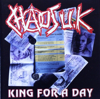 Chaos UK - King For A Day - CD