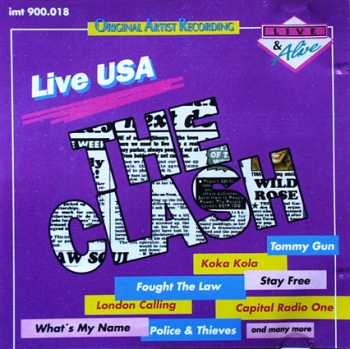 Clash, The - Live USA - CD