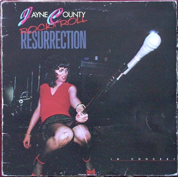 County, Jayne - Rock 'n Roll Resurrection - LP