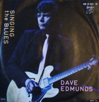Edmunds, Dave - Singing The Blues / Boys Talk - 7