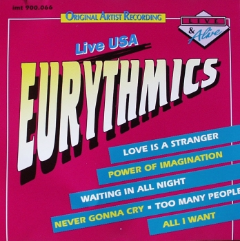 Eurythmics - Live USA - CD