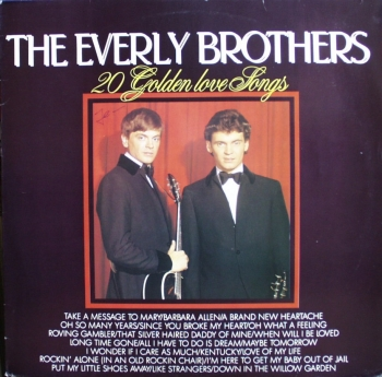 Everly Brothers, The - 20 Golden Love Songs - LP