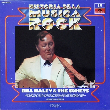 Haley, Bill - Historia de la Musica Rock - LP
