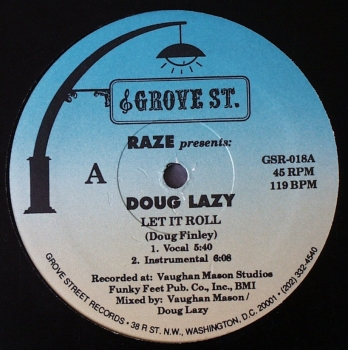 Doug Lazy - Let It Roll (4x) - 12