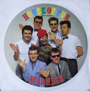 Madness - House Of Fun / Don't Look Back - 7