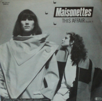 Maisonettes, The - This Affair / Say It Again - 7