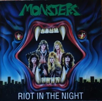 Monsters - Riot In The Night - LP
