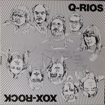 Q-Rios / Xox-Rock - Split - LP