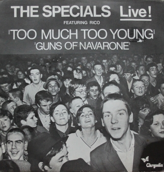 Specials, The - Too Much Too Young / Guns Of Navarone - 7