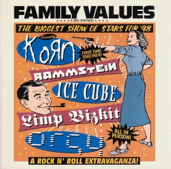 Various Artists - Family Values Tour '98 - CD