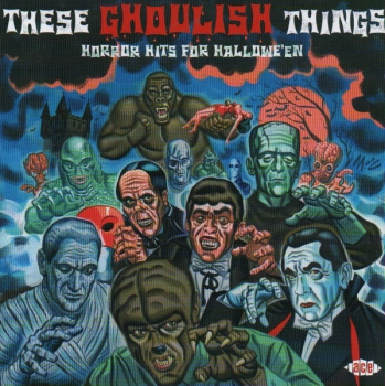 Various Artists - These Ghoulish Things - CD