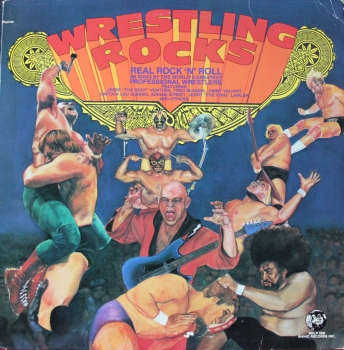 Various Artists - Wrestling Rocks - LP