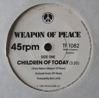 Weapon Of Peace - Children Of Today / Woman - 7