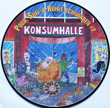 POGO, SUFF & KOHLE SCHNORREN - V/A - Pic. LP