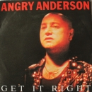 Anderson, Angry - Get It Right / Falling - 7""