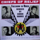 "Chiefs Of Relief - Freedom Of Rock (Main 12"" Mix) /(Remix Instrumental) / (Dope Chiefs On The Rock Tip Mix) - 12"""