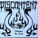 Discontent - Chance To Live - 7""