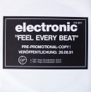 Electronic - Feel Every Beat / Lean To The Inside - 7""