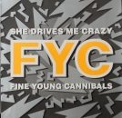 Fine Young Cannibals - She Drives Me Crazy / Pull The Sucker Off - 12""