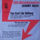 Nash, Johnny - You Can't Go Halfway / The Very First Time - 7""