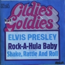 Presley, Elvis - Rock-A-Hula Baby / Shake, Rattle And Roll - 7""