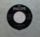 Ray, Johnnie - Yes, Tonight Josephine / No Wedding Tolday - 7""
