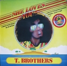 T. Brothers - She Loves You - LP