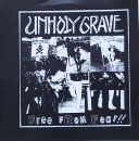 Unholy Grave / Violent Headache - Free From Fear !! - 7""