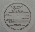 Various Artists - Summer Sampler (Labour Of Love - Volume Two) - 7""