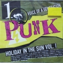 Various Artists - Punk / Voice Of A Generation  Vol.1  - Holiday In The Sun Vol. I - CD
