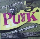 Various Artists - Punk / Voice Of A Generation  Vol.3  - Punk & Disorderly - CD