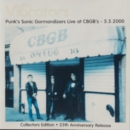 Vibrators, The - Punk's Sonic Gormandizers Live At CBGB's - 5.5.2000 - CD