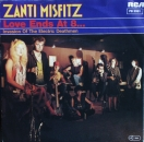 Zanti Misfitz - Love Ends At 8... / Invasion Of The Electric Deathmen - 7""